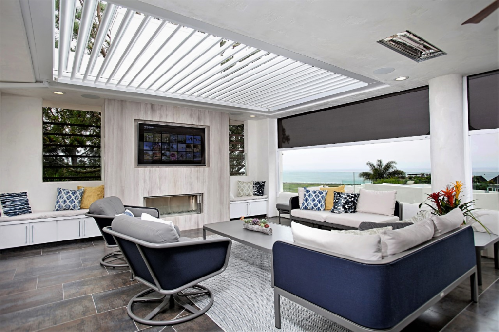 The Smart Pergola: Protecting You in All Kinds of Weather
